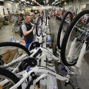 Essor du vélo électrique: un quart des bicyclettes sont «Made in France»