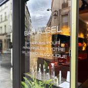 À Paris, un «bar» à gel hydroalcoolique