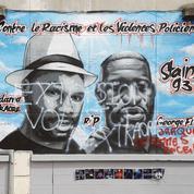 Affaire Adama: la fresque vandalisée