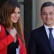 Gérald Darmanin et Marlène Schiappa installent leur duo place Beauvau