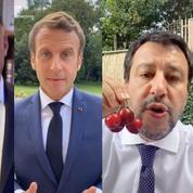 Macron, Salvini... Comment des personnalités politiques se mettent timidement à TikTok