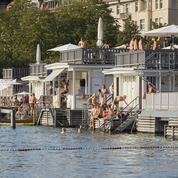 Zurich en contre-plongée