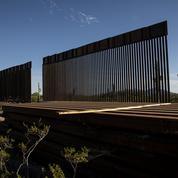 À la frontière mexicaine, le mur de séparation est érigé en outil de campagne