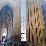 Après l'incendie de la cathédrale de Nantes, des dizaines de millions d'euros et plusieurs années de travaux