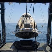Retour sur Terre réussi pour la capsule habitée de SpaceX