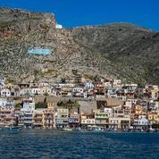 Sur l'île grecque de Kalymnos, la menace turque est omniprésente