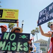 À Newport Beach, repaire californien de la rébellion anti-masque