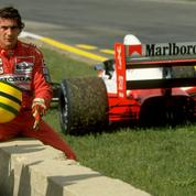 Ayrton Senna, à toute allure