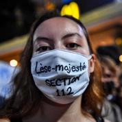 En Thaïlande, les contestataires ciblent la monarchie