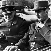 Entre Winston Churchill et Charles de Gaulle, le combat des chefs