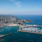 À Saint-Quay-Portrieux, le plaisir des bains froids à marée basse