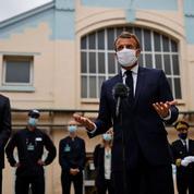 Emmanuel Macron annonce des mesures desoutien aux laboratoires