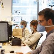 Le masque complique la vie dans l'entreprise