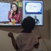 À cause de la pandémie de coronavirus, l'école à la télévision pour tous les petits Mexicains