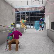 Danse en réalité virtuelle: ballet du troisième type