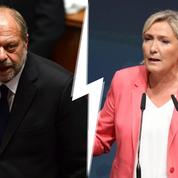 Quand Dupond-Moretti rejoue le clash Tapie / Le Pen