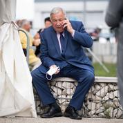 Sénatoriales: Gérard Larcher laboure le terrain et prépare sa réélection