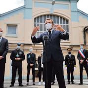 Emmanuel Macron court après son bilan
