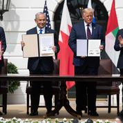 Benyamin Nétanyahou signe une entente historique avec des pays du Golfe à la Maison-Blanche