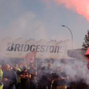 Arrêt de l'usine Bridgestone: un casse-tête pour l'État