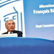 Bayrou, nouveau haut-commissaire au Plan, s'accorde un large rayon d'action