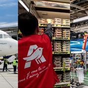 Aéronautique, distribution et automobile: trois secteurs en restructuration massive