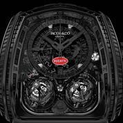 Une Montre Noire à un million signée Jacob & Co pour Bugatti