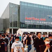 Le grand salon de l'automobile chinois redémarre sur les chapeaux de roues