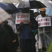 Tokyo épinglé pourses détentions arbitraires