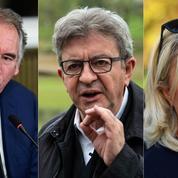 Guillaume Tabard: «Bayrou, Mélenchon, Le Pen: rêve et mirage d'une troisième candidature»