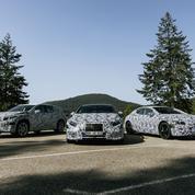 Mercedes, une gamme complète de modèles électriques
