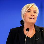 Islamisme: Marine Le Pen réclame une «législation de guerre»