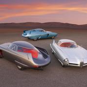 Alfa Romeo BAT, la trilogie des Batmobiles de Bertone aux enchères