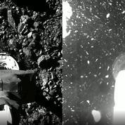Les images spectaculaires de la sonde Osiris-Rex «tapant» l'astéroïde Bennu