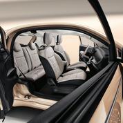 Fiat 500 3 + 1, une double porte côté droit