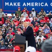 Une poignée d'États pour départager Trump et Biden