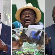 Côte d'Ivoire: trois chefs pour un seul fauteuil présidentiel