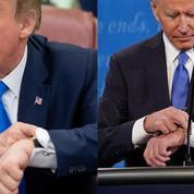 Trump/Biden: qui gagne le match de la plus belle collection de montres?