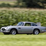 L'Aston Martin DB5 de Sean Connery
