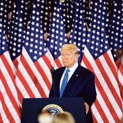 Présidentielle américaine: distancé dans les urnes, Trump choisit la voie du conflit