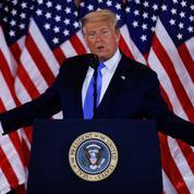 Le Parti républicain soudé derrière Donald Trump dans sa contestation judiciaire du scrutin