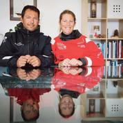 Davies-Attanasio, couple à terre, (pas) concurrents en mer