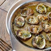 Les recettes de Nolwenn Corre: palourdes farcies, raviole aux coquillages, meringue kiwi