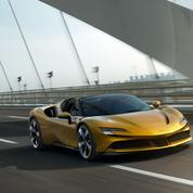 Ferrari SF90 Spider, le silence cheveux au vent