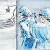 Coronavirus: à l'hôpital, «pour les soignants aussi, c'est lourd émotionnellement»