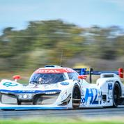 Au volant de la voiture à hydrogène du Mans
