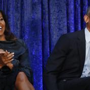 Dans les coulisses de l'empire médiatique des Obama, un couple qui vaut de l'or
