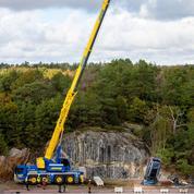 Quand Volvo jette des voitures de 30 mètres de haut