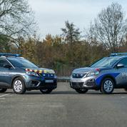 Les forces de l'ordre bientôt en Peugeot 5008