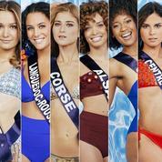 Miss France 2021: les photos officielles des 29 candidates en maillot de bain